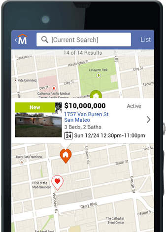 Movoto real estate Android app
